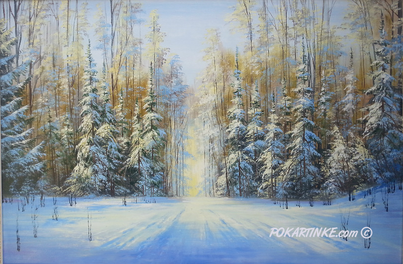 Зимова казка - картинная галерея PoKartinke.com