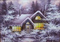Сказочный зимний вечер