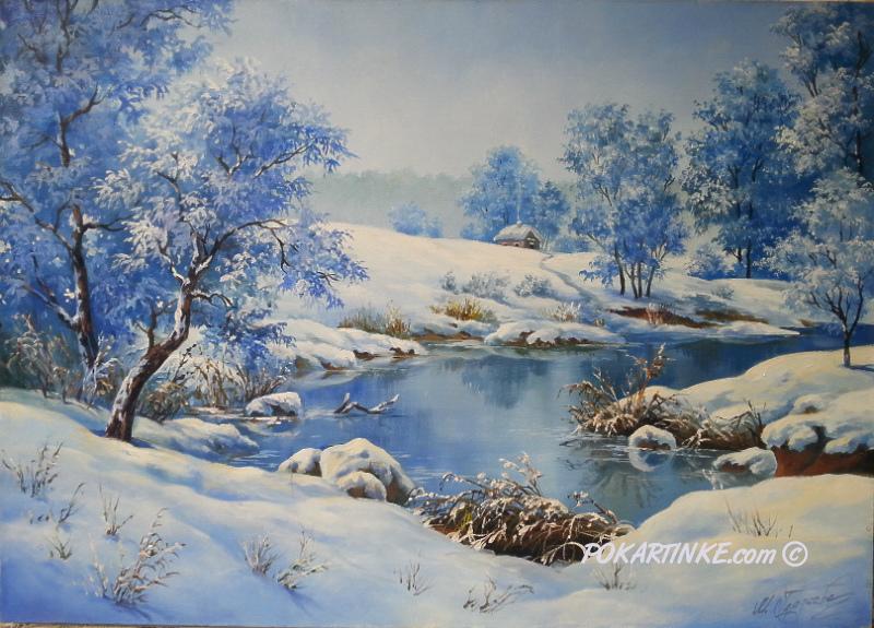 Зимушка - картинная галерея PoKartinke.com