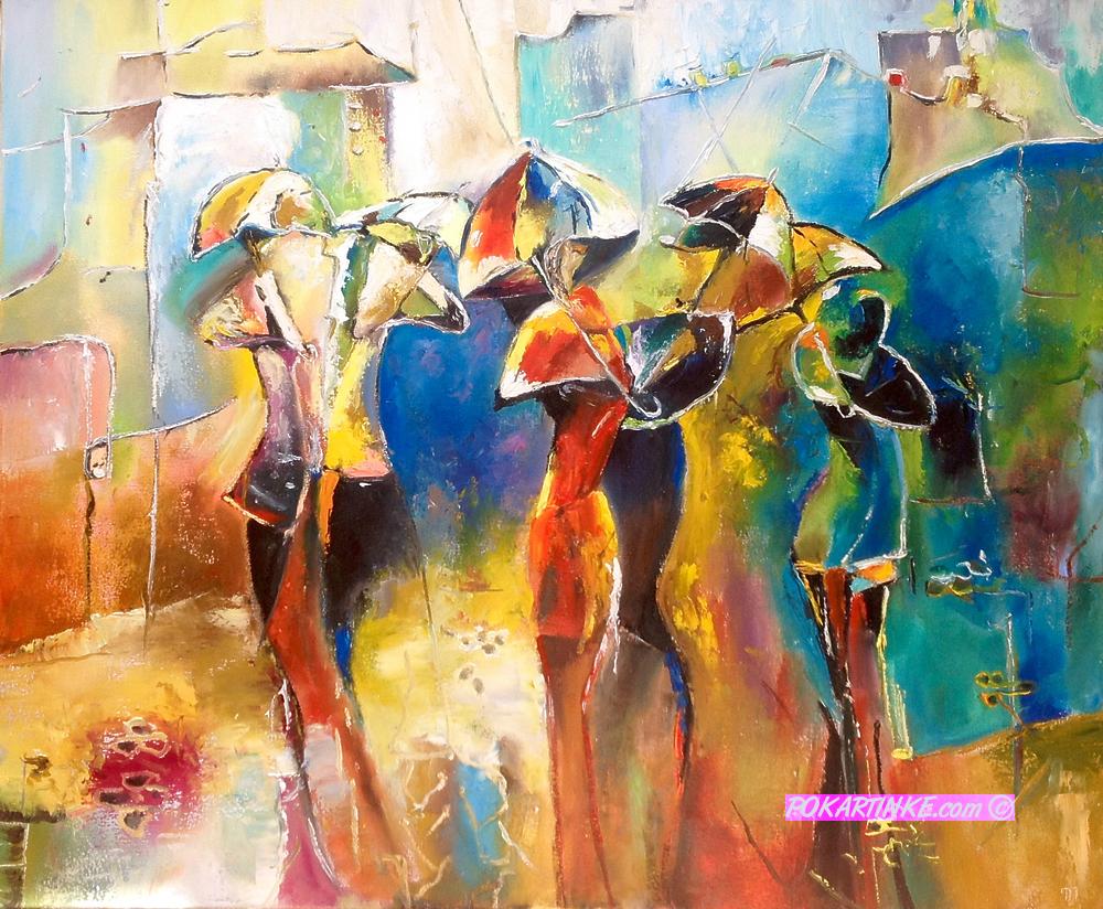 Зонтики - картинная галерея PoKartinke.com